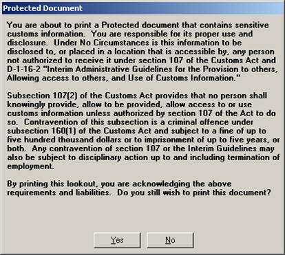Protected Document message