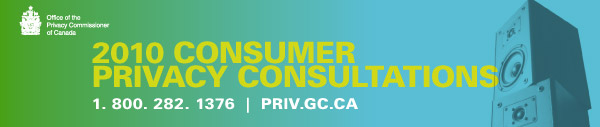 2010 Consumer Privacy Consultations