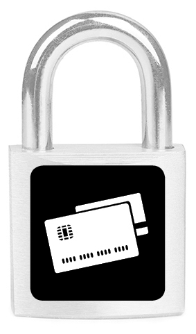 Lock with Credit Card
