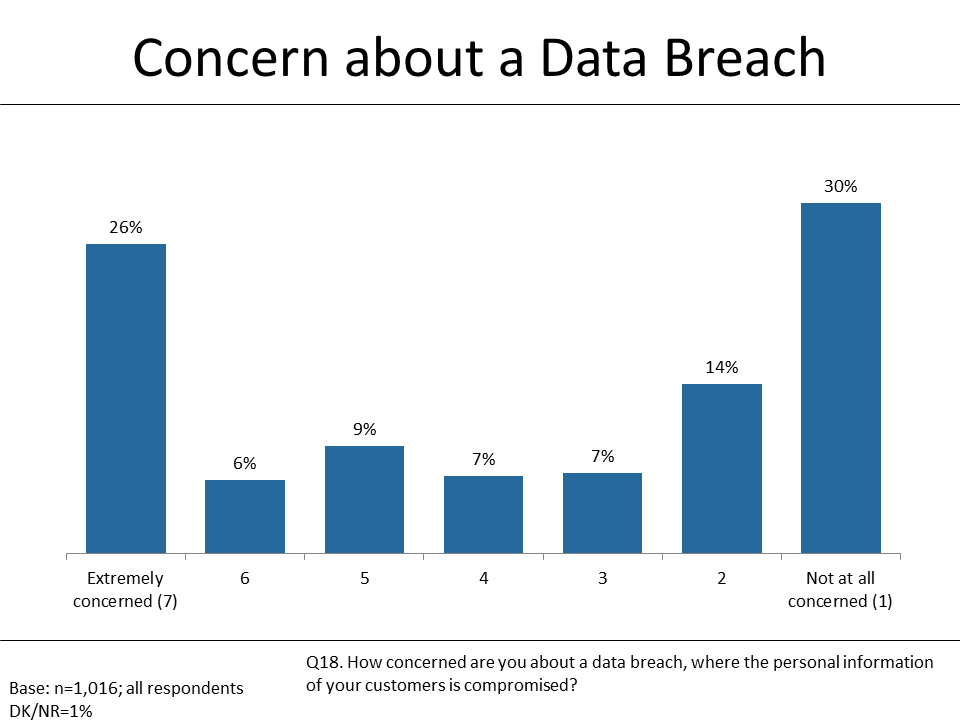 Figure 11: Concern about Data Breach