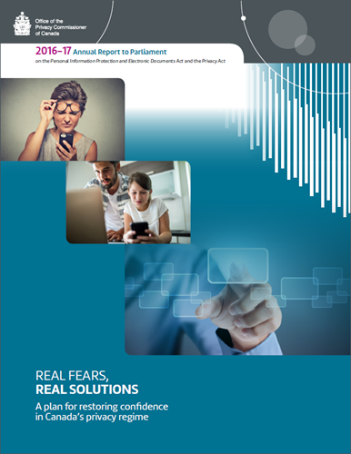 2016-17 Annual Report to Parliament