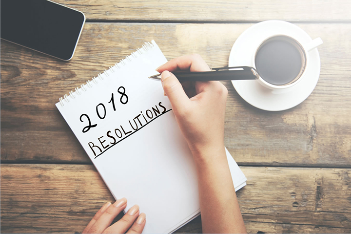 Start 2018 with privacy New Year's resolutions!